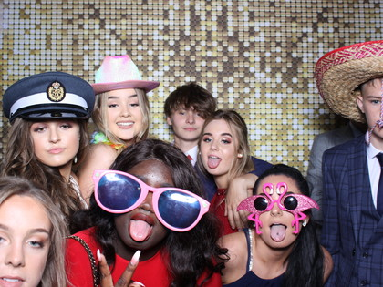 Year 11 Leavers' Prom photo booth 2019