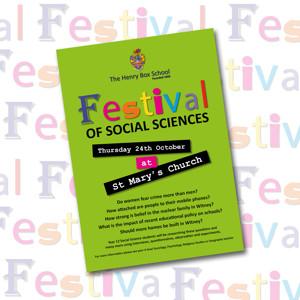 Festival Social Science Poster 1019