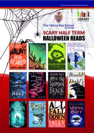 Halloween book poster 1019
