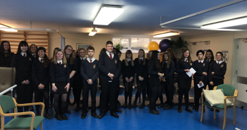 Year 10 Health and Social Care students attended St Luke's Hospital