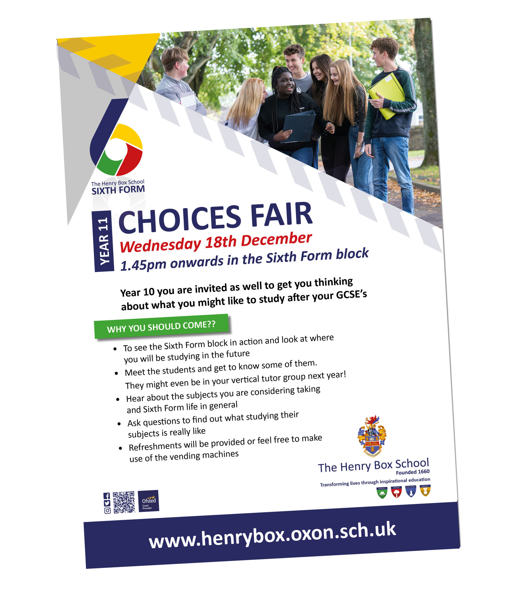 Sixth Form Choices Fair 1119