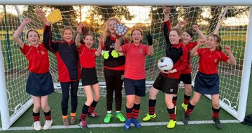 Year 7 and 8 Girls' Football