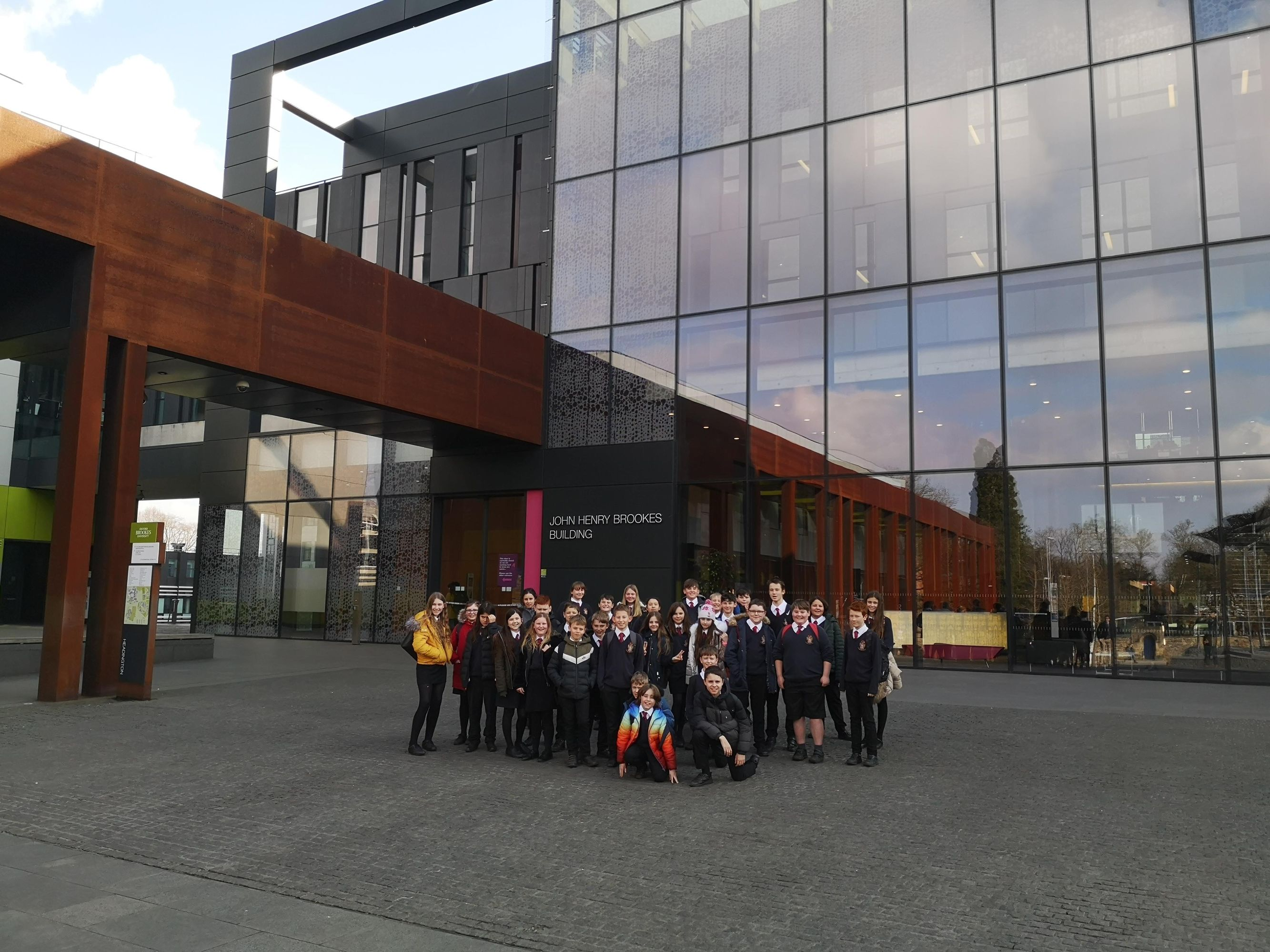 Year 7 Raising Aspirations Trip to Oxford Brookes University 1