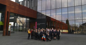 Year 7 raising aspirations trip to Oxford Brookes University