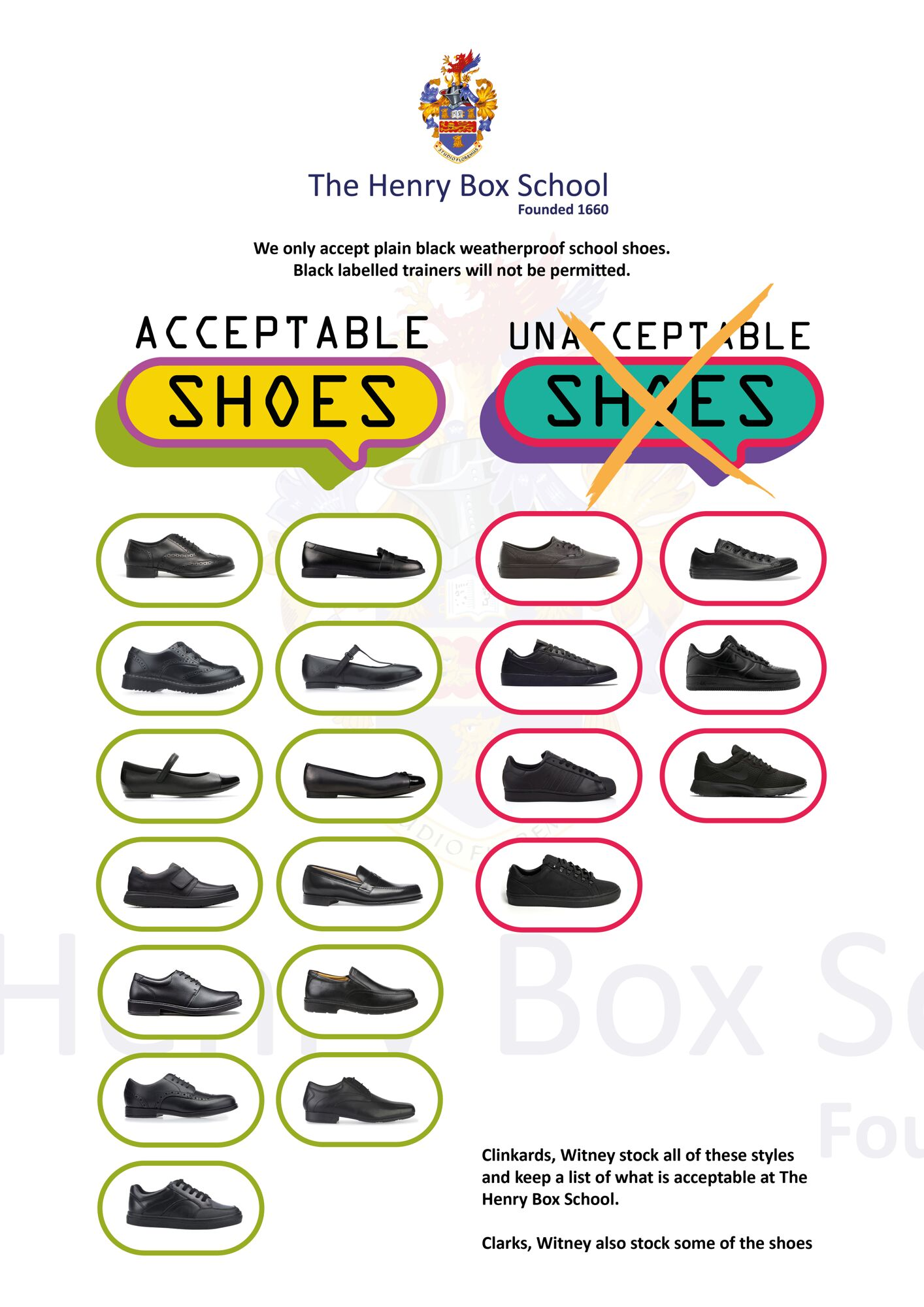 HBS shoe poster 2020
