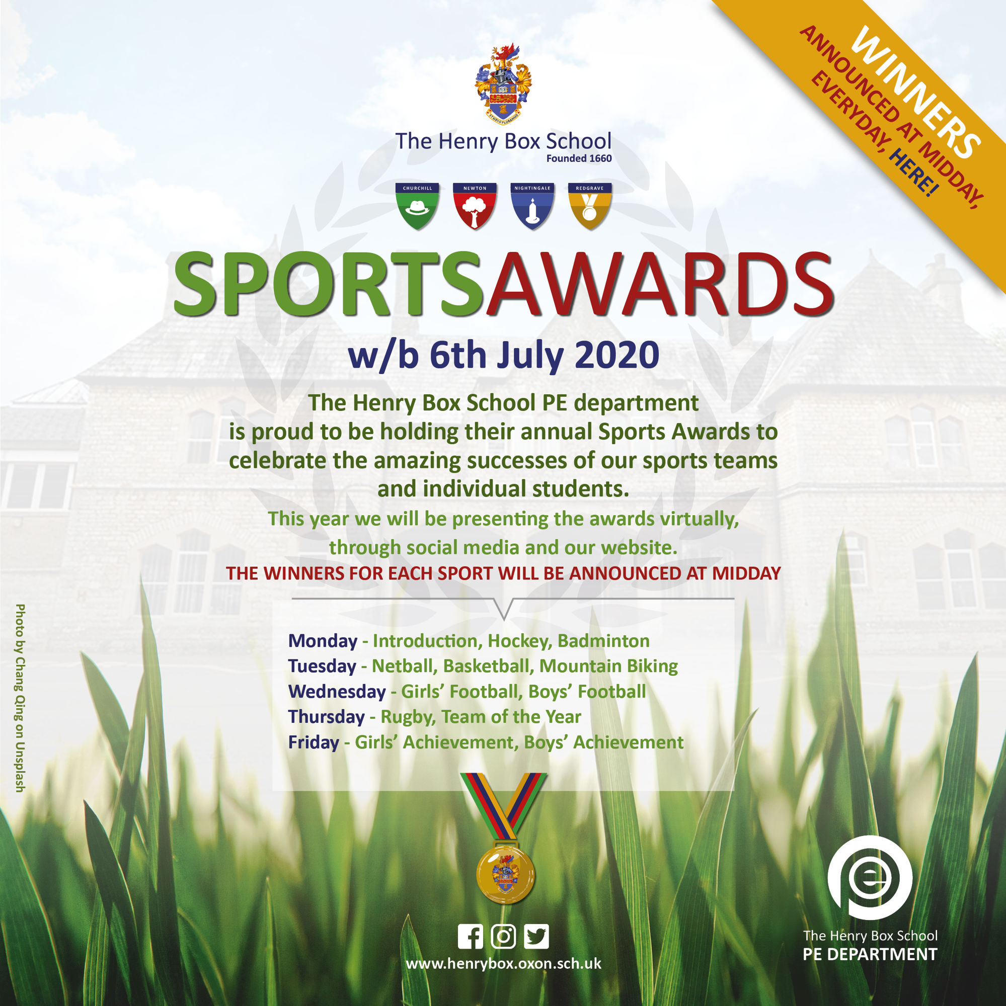 Virtual Sports awards Promo ad 2020