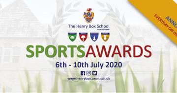 The Henry Box School Sports Awards 2020