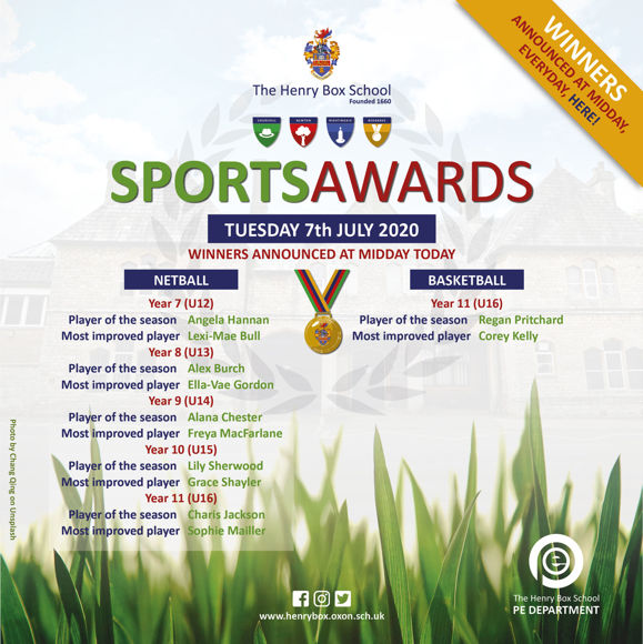 Virtual Sports awards Results for media 20204