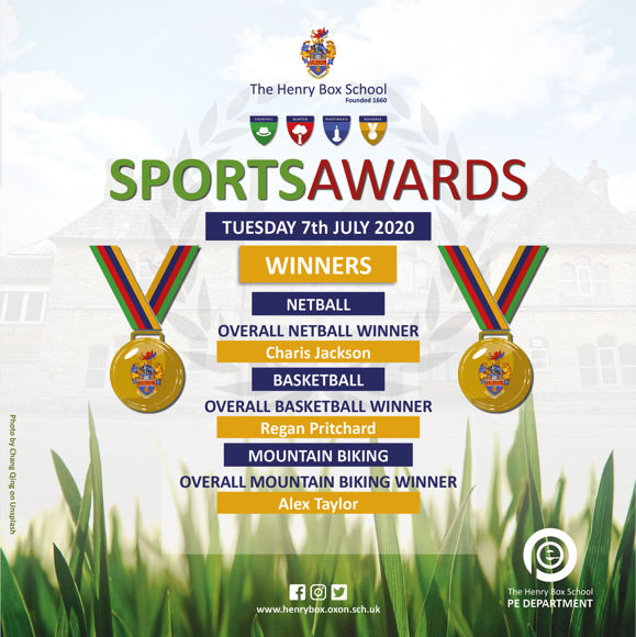 Virtual Sports awards Results for media Tue 7th 12pm