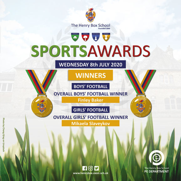 Virtual Sports awards Results for media 20207