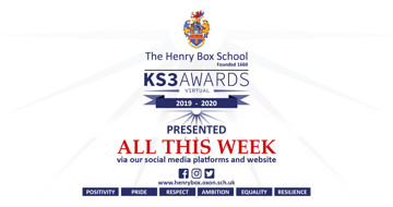 KS3 awards 2020