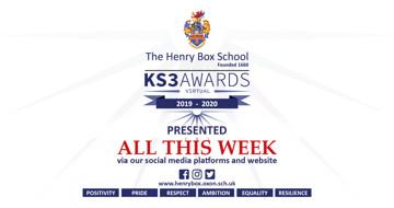 KS3 awards 2020