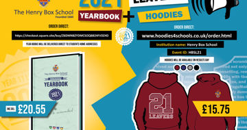 Year 11 Yearbooks and Leavers' Hoodies