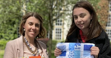 Project Linus UK donate quilts to young carers