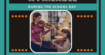 Music Department offer instrumental lessons