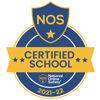 NOS   Certified Achool 2021 22 Logo