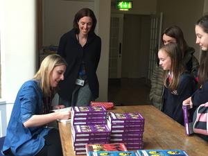 Author visit - Katherine Woodfine 4