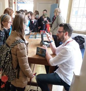 Author visit - Martin Stewart 3