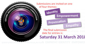 The Henry Box School, and Oxford Brookes Photography competitions