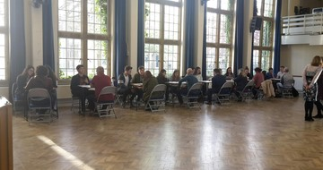 Revision Speed Dating with Social Sciences Students
