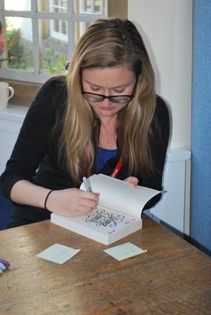 Katherine Webber Author visit 0518 2