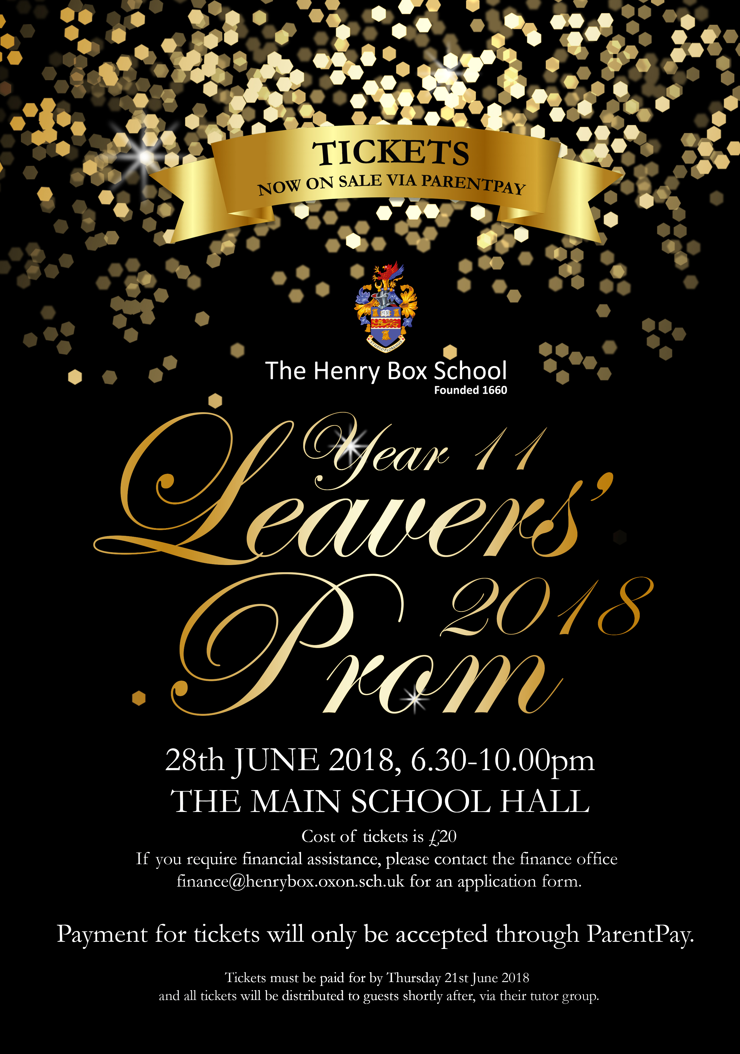 year 11 leavers prom 2018 news the henry box school