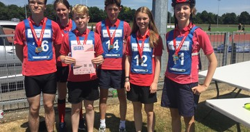 Under 14s County School Games Cycling Finals
