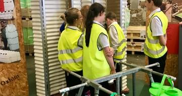 RS Oxfam Warehouse visit