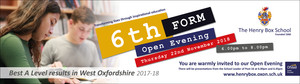 6th form open eve banner 2500x700 2018 19