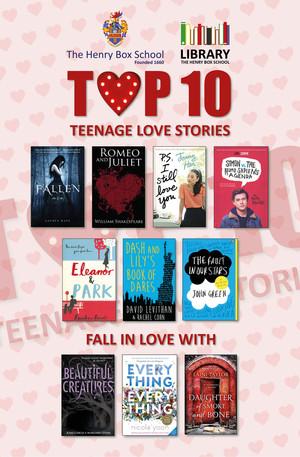 Valentine top 10 books.