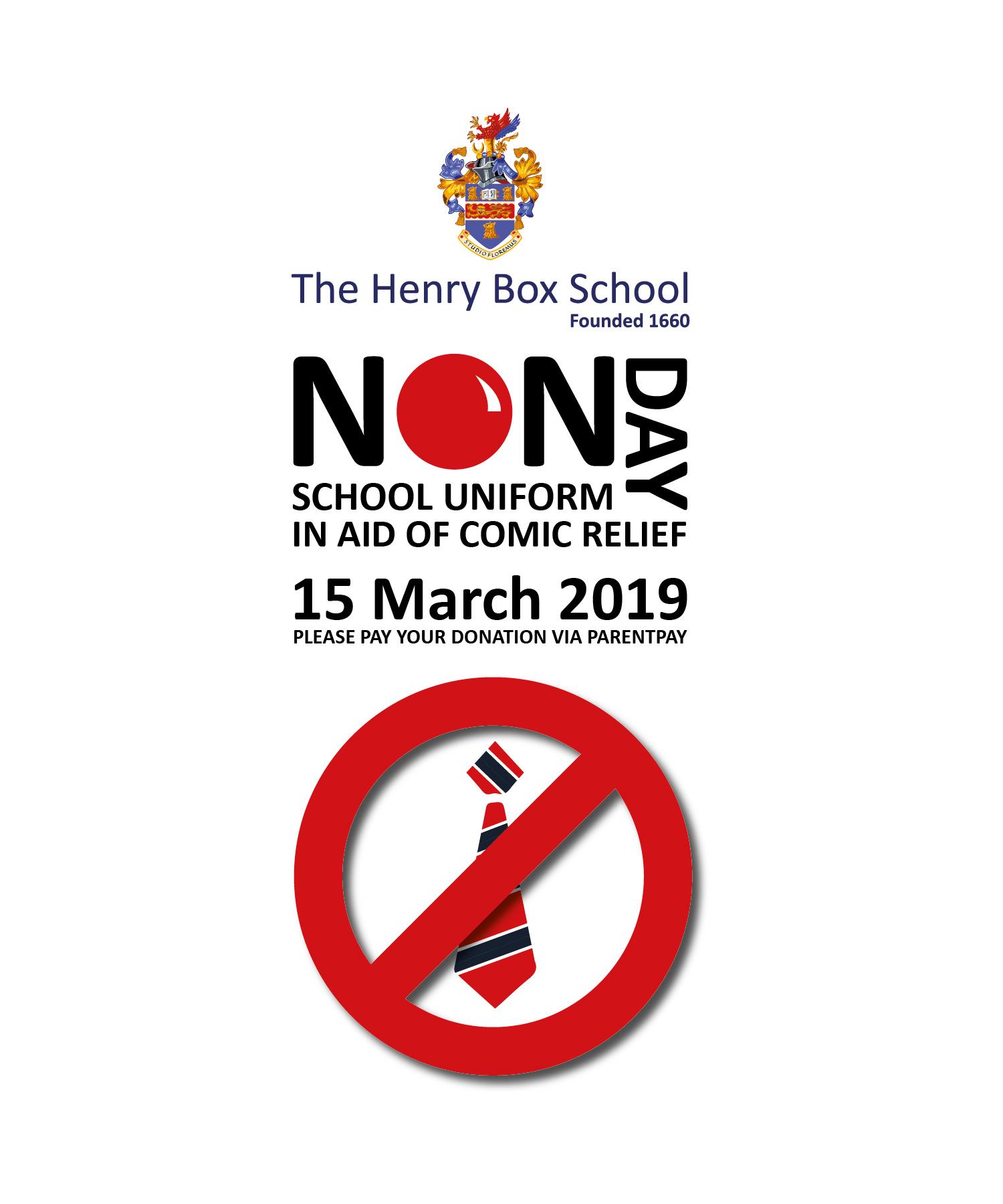 Non school uniform logo