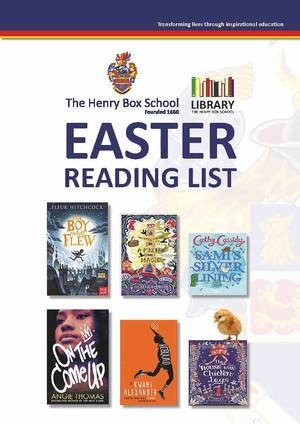 Easter reading list 0319